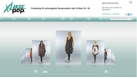 Schnittstelle Online Shop