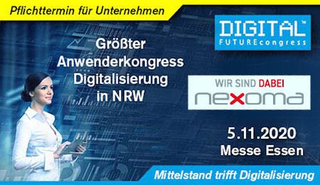 nexoma PIM Street Aussteller zum Digital Futur Congress